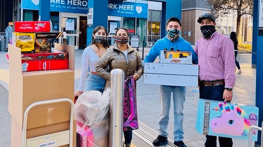 Charge gives back to community