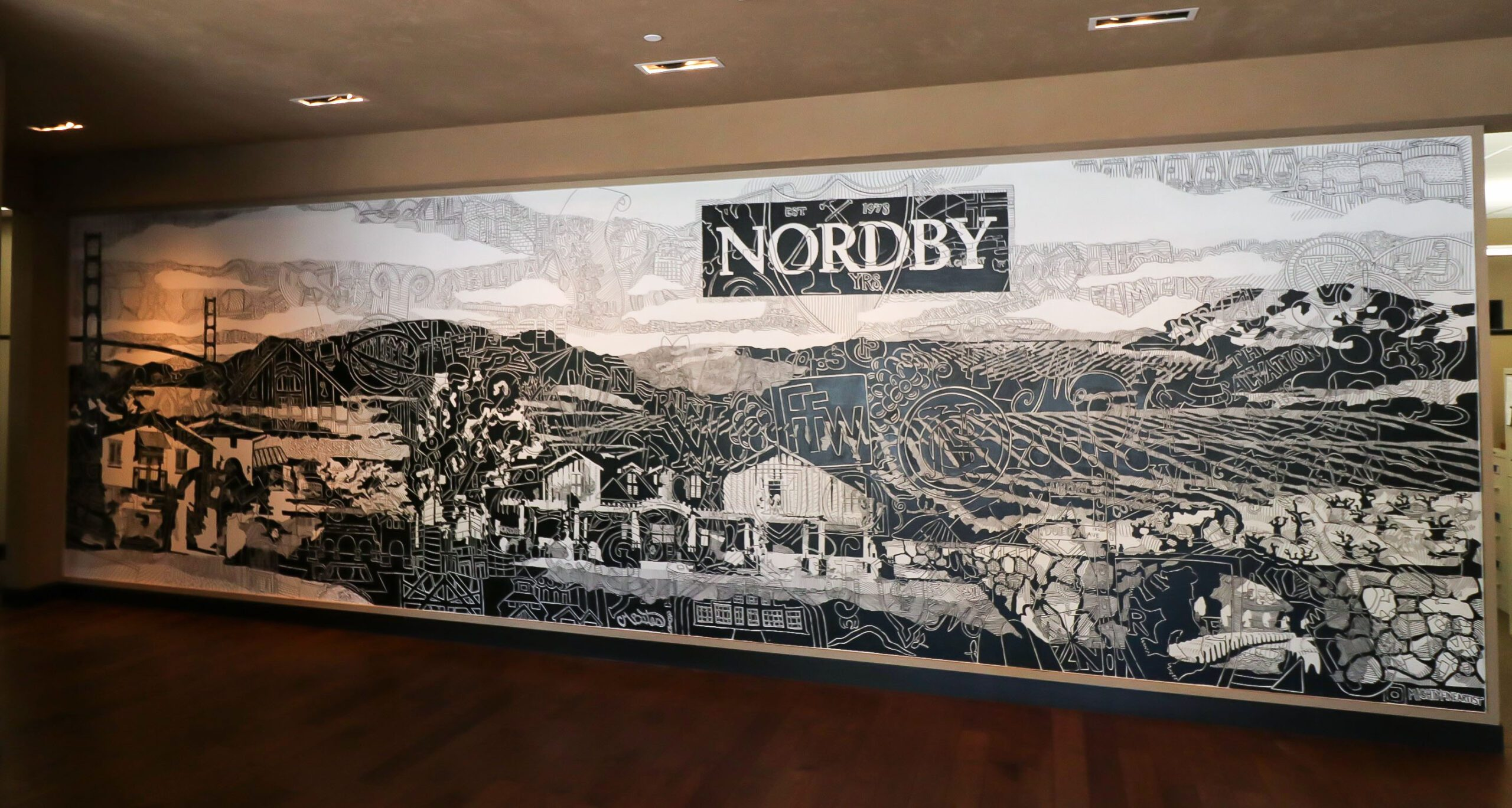 Nordby Mural