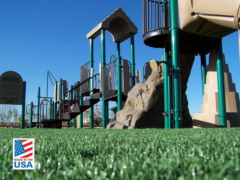 artificial grass for playgrounds