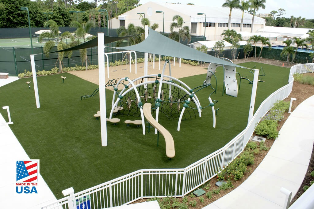 synthetic grass for playgrounds