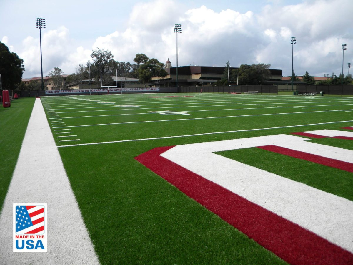 synthetic turf for football fields